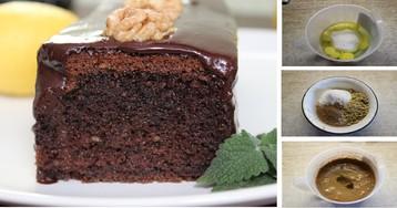 Шоколадный кекс на минералке (вкуснее, чем брауни): пошаговый фото рецепт