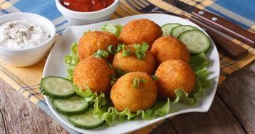 Аппетитные картофельные крокеты