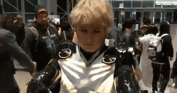 One Punch ManCosplay Lights It Up