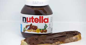 A dark, handsome rival plans to muscle in on Nutella