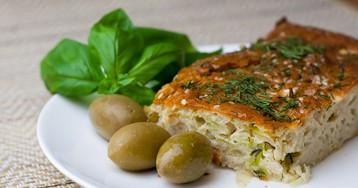 Вкусный и простой пирог с капустой
