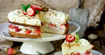 Бисквитный торт «Королева Виктория»