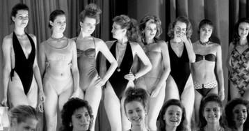 Как проходил первый вистории СССР конкурс красоты