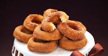 Пончики с корицей