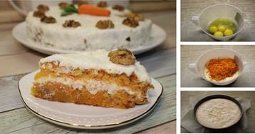 Самый вкусный морковный торт: пошаговые фото