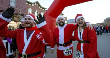 Breckenridge tem corrida de Papai Noel e outras atrações para os turistas