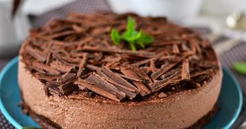 Шоколадный чизкейк с маскарпоне