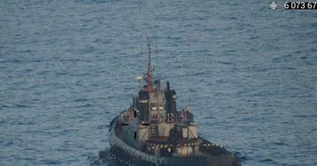 Киев засекретил документ о следовании кораблей ВМСУ Керченским проливом