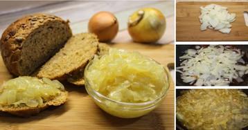 Изысканный луковый конфитюр: пошаговый фото рецепт