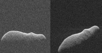Потенциально опасный астероид, похожий на бегемота, разминулся с Землёй