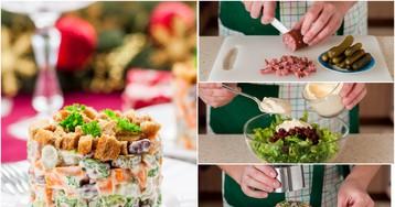 Немецкий рождественский салат