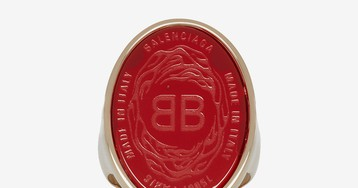 Balenciaga Unveils Chevaliere Signet Ring in Three Colors