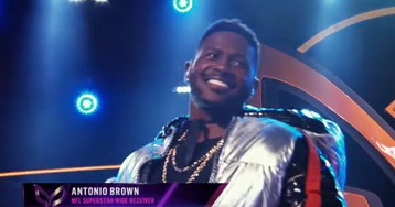 Antonio Brown Pops Up on Fox's 'The Masked Singer' Amid Trade Rumors