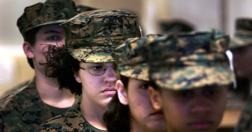 Marine Corps integrates male and female platoons during boot camp for first time in history