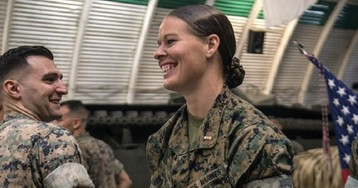Marines integrate boot camp by gender