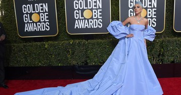Lady Gaga is dressed to win at the 2019 Golden Globes
