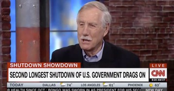 """Dem Sen. Angus King: I disagree with Pelosi that a border wall is """"immoral"""""""