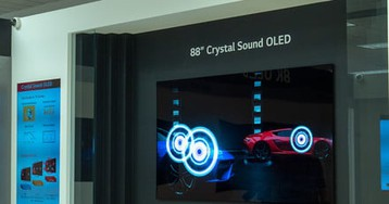 LG Display's latest 8K OLED TV screen is also a Dolby Atmos speaker