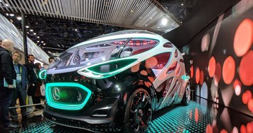 Don't let the Mercedes Vision URBANETIC's wacky looks fool you