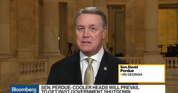 Sen. Perdue Sees Cooler Heads Prevailing on Border Security