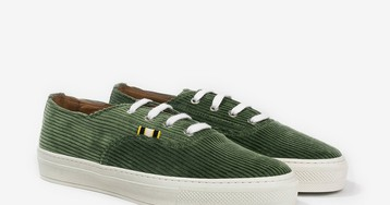 Brendon Babenzien's Aprix Drops Nautical-Inspired Canvas & Corduroy Low Sneakers