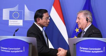 EU under fire after lifting threat to ban Thai seafood imports over illegal fishing