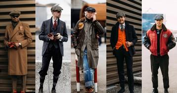 Newsboy Caps Dominated Street Style at Pitti Uomo