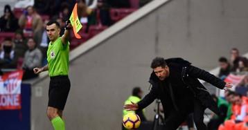 """Simeone: """"Son los árbitros los que tienen que decidir cuándo, cómo y por qué tiene que ser penalti"""""""