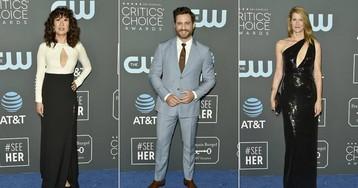 La alfombra azul de los Critics' Choice Awards 2019, en imágenes