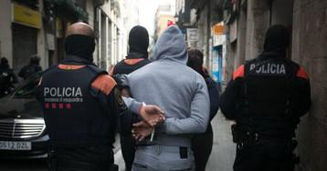 Operación antiterrorista de Mossos con vinculaciones con la delincuencia común