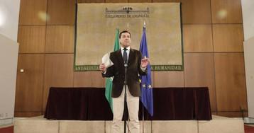 Moreno presenta su programa de Gobierno en medio de las protestas contra Vox