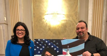 Jewish groups condemn Rashida Tlaib over ties to radical pro-Hezbollah, anti-Israel activist