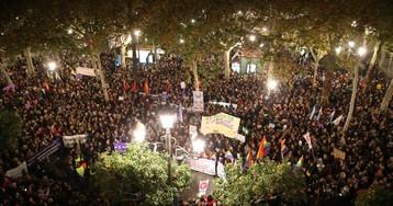 """Miles de mujeres contra Vox: """"Nos tendrán enfrente si tocan nuestros derechos"""""""