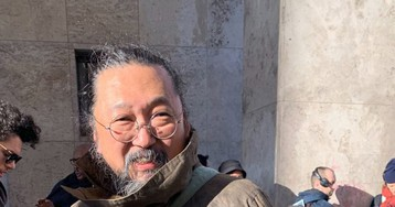 Takashi Murakami Spotted in Paris Wearing Possible New PORTER Collab