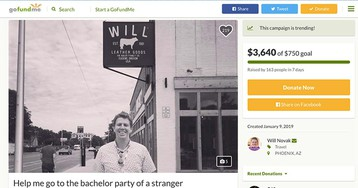 Man raises thousands to attend stranger's bachelor party after typo gets him invite by mistake