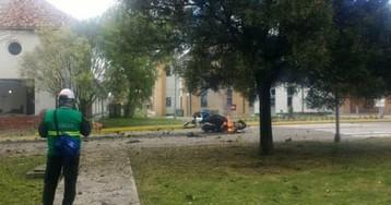 Bogotá car bomb kills at least nine people –video