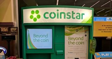 В автоматах Coinstar теперь можно покупать криптовалюту