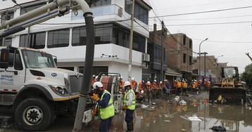 Las aguas fecales inundan Lima