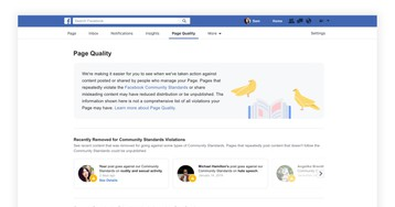 Facebook may proactively close Pages and Groups before they're in violation of policy