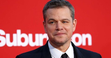 Matt Damon borrowed a suit for Davos speech after Swiss Air reportedly lost his luggage