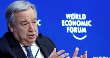 La crisis de Venezuela estalla en Davos