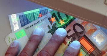 El BCE retira 262.000 billetes de euros falsos en el segundo semestre de 2018