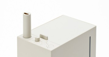 Kamome Japanese Humidifier Inspired by Radio Design