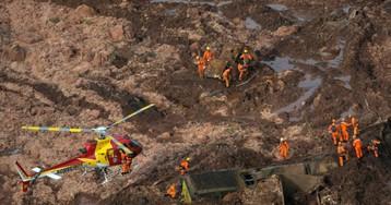 Brasil busca a cientos de empleados de una mina devorada por toneladas de residuos