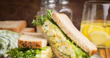 Яично-горчичный салат