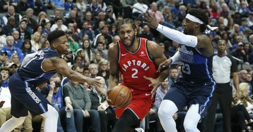 Raptors survive third-quarter collapse to beat Mavs in Dallas