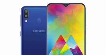 Samsung Galaxy M10 and M20 deliver waterdrop notches on a budget