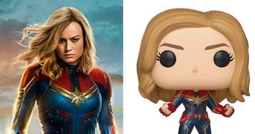 Funko lança linha de bonecos de 'Capitã Marvel' e nós já queremos todos