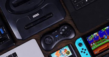 8bitdo M30 controller takes Sega Genesis games wireless