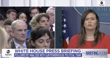 Sarah Sanders on Friday's surrender: Conservatives who actually have influence support him